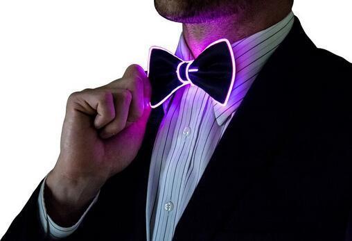 EL Tie EL Bow Tie GEEKLEDs