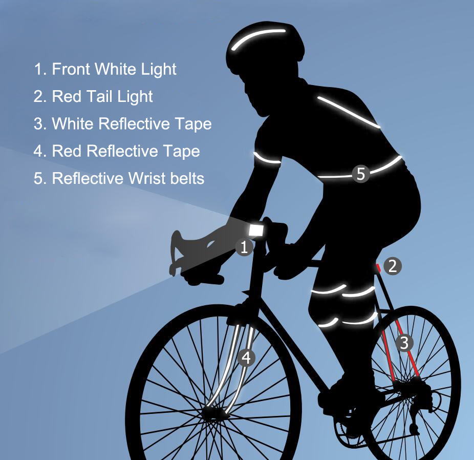How to Ride a Bike Safely at Night